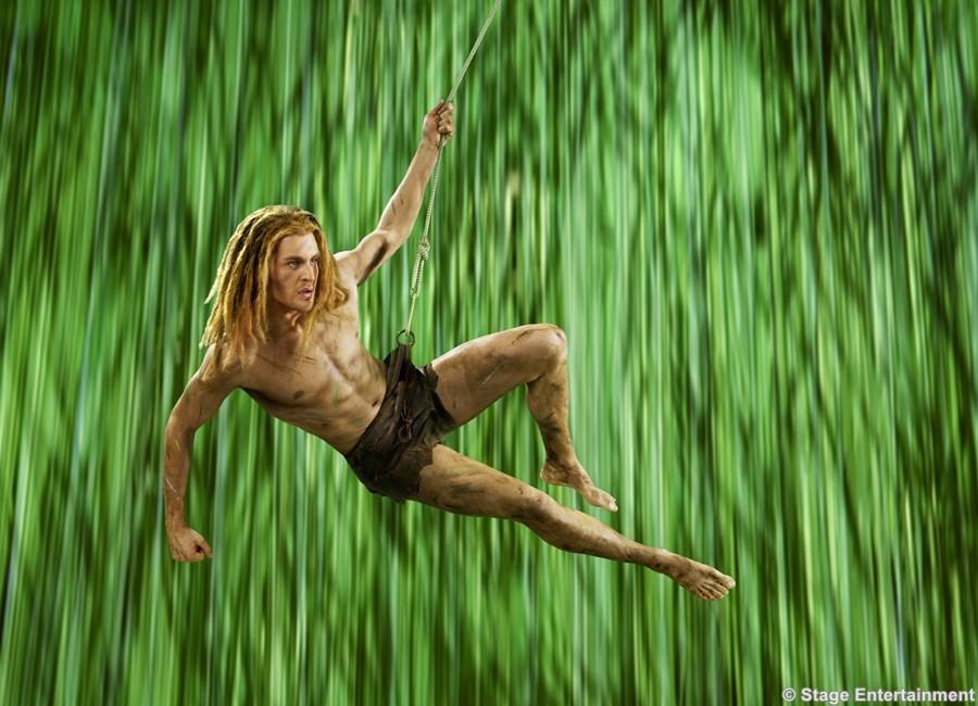 Disneys Musical TARZAN mit Starbesetzung in NRW  Ab Herbst 2016 steht Alexander Klaws als Tarzan im Stage Metronom Theater in Oberhausen auf der Bühne