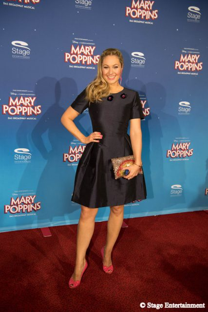 Ruth Moschner MARY POPPINS Ð DAS BROADWAY MUSICAL Premiere im Stage Apollo Theater in Stuttgart am 23.10.2016