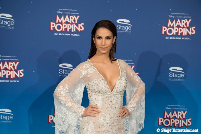 Sila Sahin MARY POPPINS Ð DAS BROADWAY MUSICAL Premiere im Stage Apollo Theater in Stuttgart am 23.10.2016