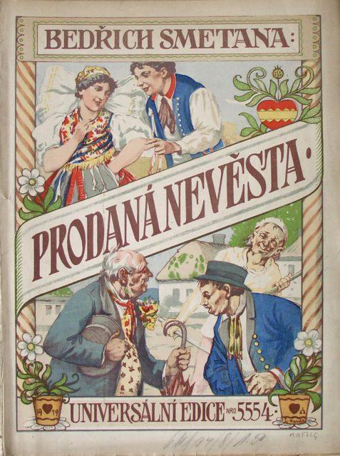 Titelblatt einer Partitur von 1919, Quelle: wikipedia.de
