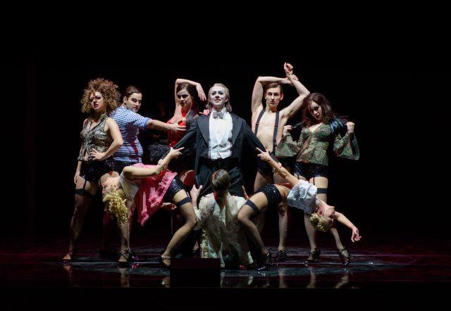 Klavierhauptprobe zum Musical »Cabaret« am Staatstheater Darmstadt. Foto: Candy Welz