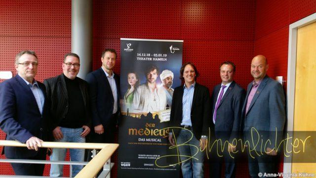(v.l.n.r. Harald Wanger, Wolfgang Haendeler, Dennis Andres, Peter Scholz, Claudio Griese, Lars Kocea)