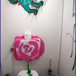 Toiletten passend zum Thema