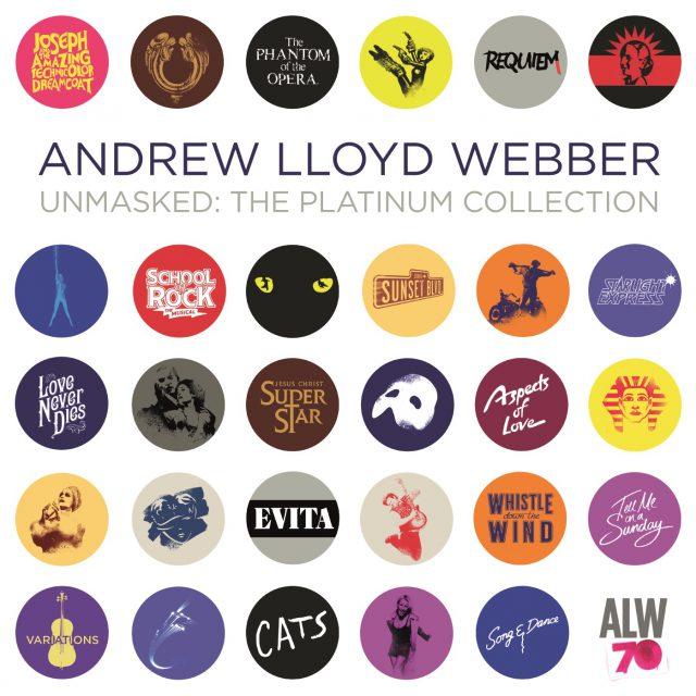 Andrew Lloyd Webber Unmasked 2CD Packshot