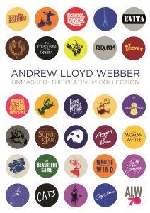 Andrew Lloyd Webber Unmasked 4CD Packshot