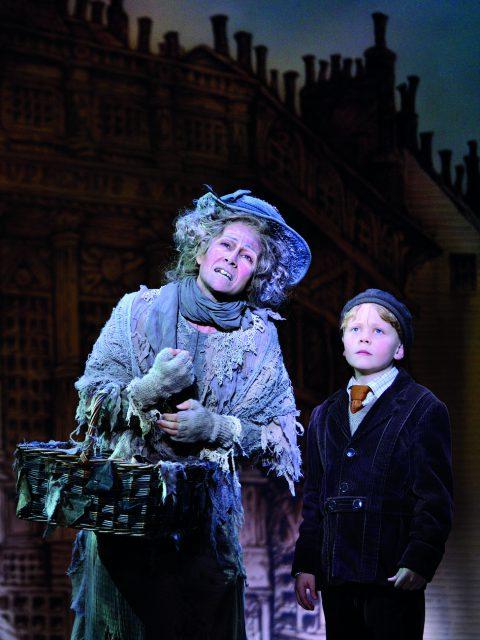 Sandra Pires als Vogelfrau gehörte zur Wiener Premierenbesetzung, © Deen van Meer