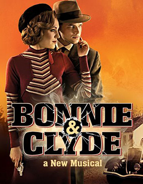 bonnie_clyde_musical_Logo3 - © Broadway Logo