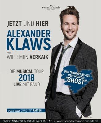 """Alexander Klaws – """"Jetzt und Hier"""" 2018"""
