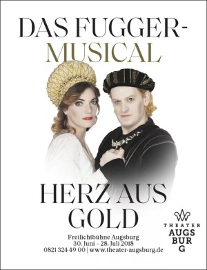 plakat herz aus gold augsburg 2018