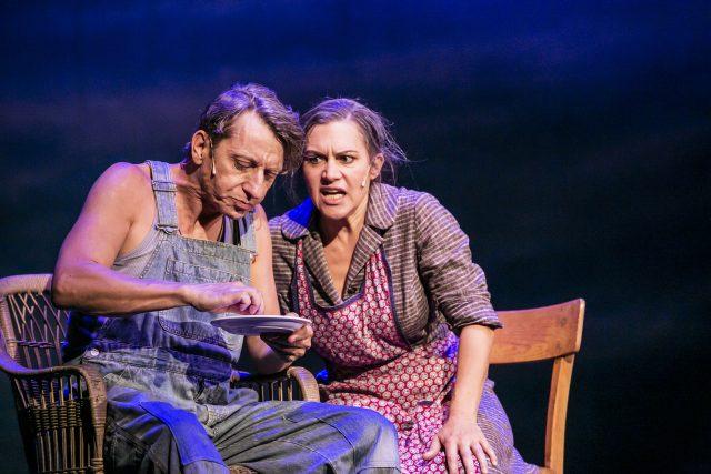 Charlie (Jens Krause) & Marge (Katharina Schutza)