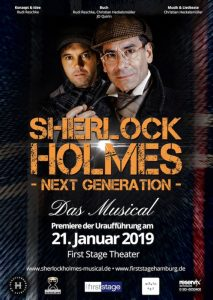 Sherlock Holmes Musical 2019