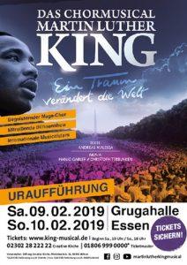 Plakat Martin Luther King Musical-Nathalie Brandt-Karl May Spiele-Reisemesse-2004