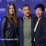 Schauspieler Richy Müller mit Tochter und Frau