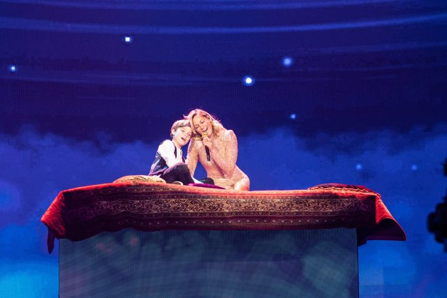 Disney-Medley: Leopold, Helene Fischer. © ZDF, Sandra Ludewig